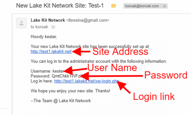signup lakekit net 5 5 login email
