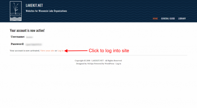 signup lakekit net 6 activation